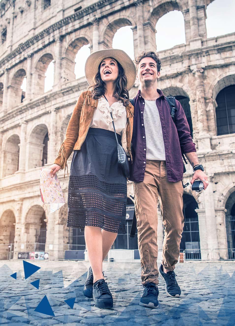 Recorré Roma mientras haces tu pasaporte italiano